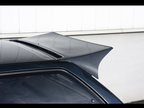 "Osaka JDM Rear Carbon Fiber ""Devil Wing"" - 88-91 Civic Hatchback"