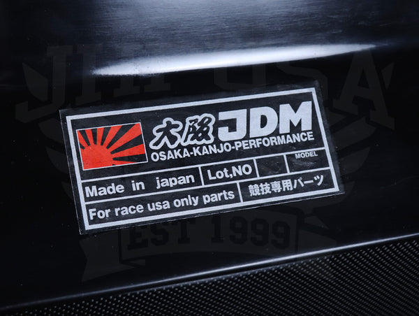 "Osaka JDM Carbon Fiber Rear ""Devil Wing"" - 92-95 Civic Hatchback"