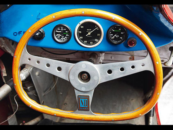 Nardi Bisiluro Limited Edition Collection Steering Wheel w/Wood Case