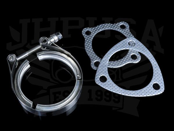 PLM Power Driven K-series Turbo Downpipe Set - 02-05 Civic Si / 02-06 RSX