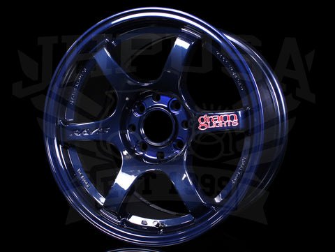 Rays Gram Lights 57DR Wheels - Mag Blue 15x8 / 4x100 / +35