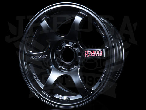 Rays Gram Lights 57DR Wheels - Semi Gloss Black 15x8 / 4x100 / +28