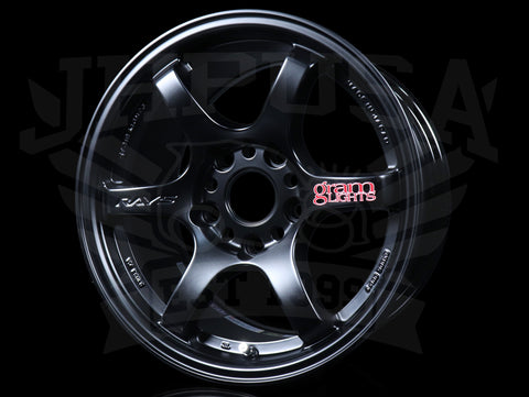 Rays Gram Lights 57DR Wheels - Semi Gloss Black 15x8  / 5x114 / +35