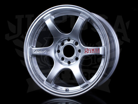 Rays Gram Lights 57DR Wheels - Shining Silver 15x8 / 4x100