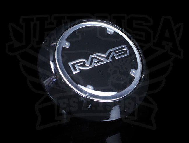 Rays Gram Lights WR Black Center Cap