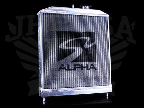 Skunk2 Alpha Series Radiator - 92-00 Honda Civic / Delsol