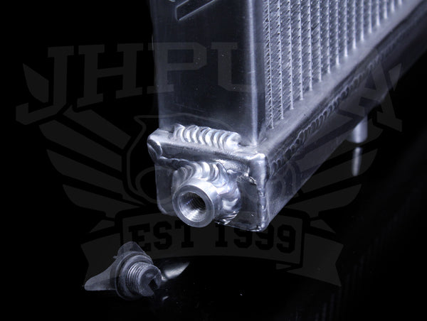Skunk2 Alpha Series Half Size Radiator - 88-91 Civic / CRX