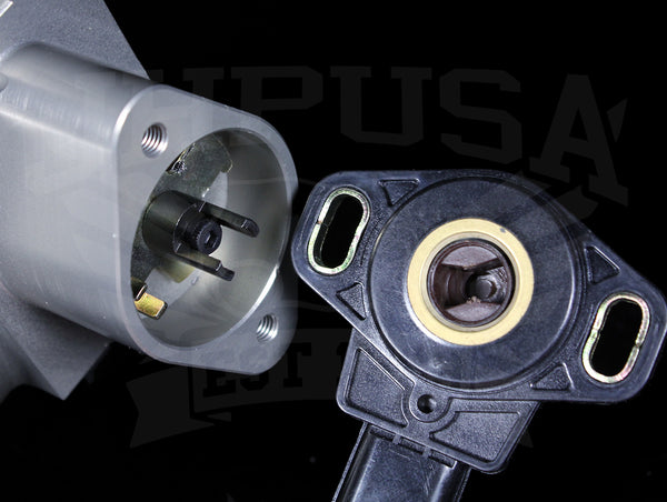 Skunk2 Pro-Series 90mm Throttle Body TPS Adapter - B to K-series
