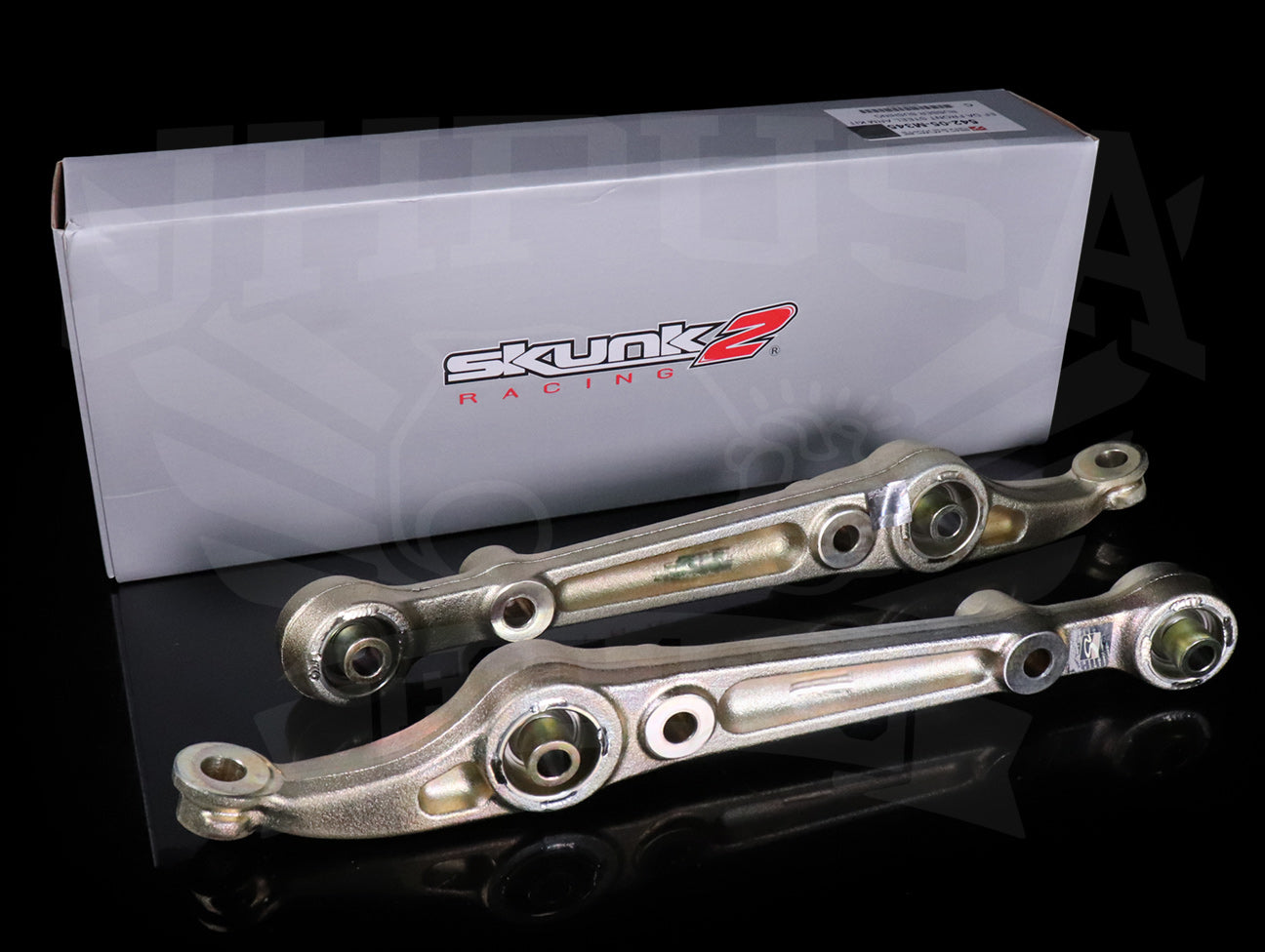 Skunk2 Spherical Front Lower Control Arms - 92-00 Civic / 94-01 Integra