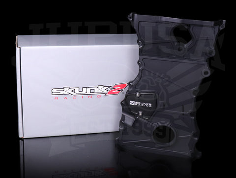 Skunk2 Billet Timing Chain Cover - K-series / Black / K24A