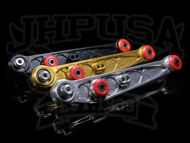 Skunk2 Alpha Series Rear Lower Control Arms - 88-95 Civic/90-01 Integra