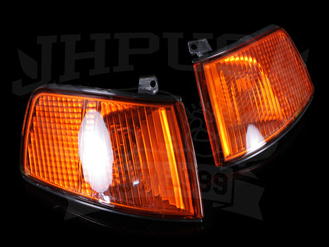 Spec-D Tuning Amber Corner Lights - 90-91 CRX