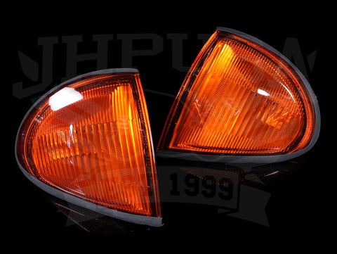 Spec-D Tuning Amber Corner Lights - 93-97 Delsol