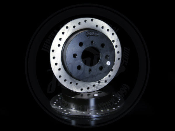 StopTech Drilled Rear Rotors - Honda/Acura