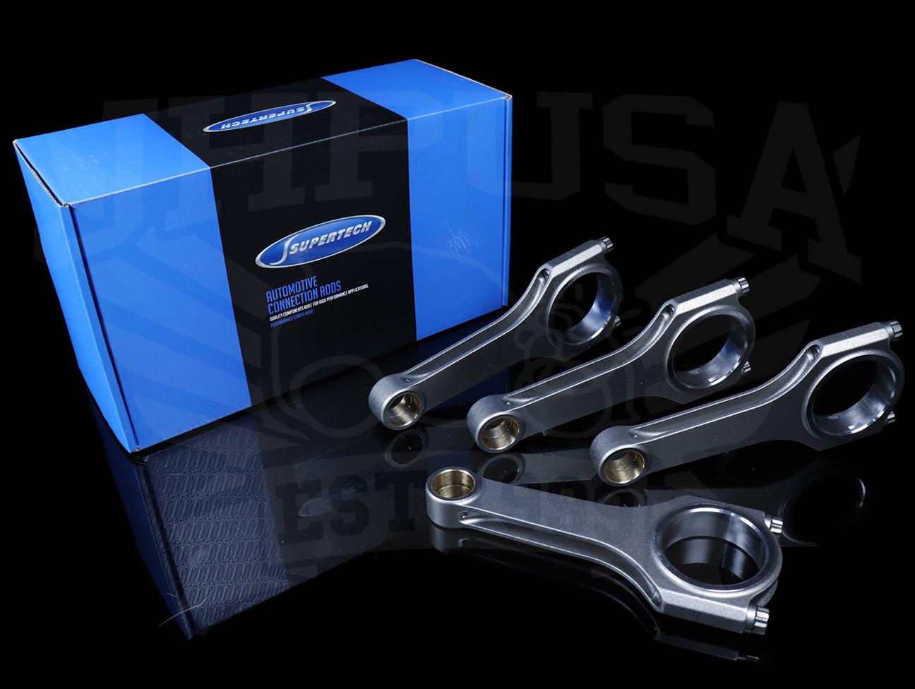 Supertech Forged Connecting Rods -  Nissan KA24E/KA24DE