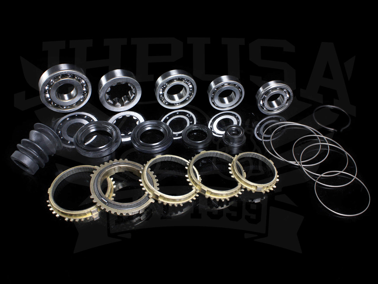 Synchrotech Bearing Seal & Carbon Syncro Kit - H-series (92-96)