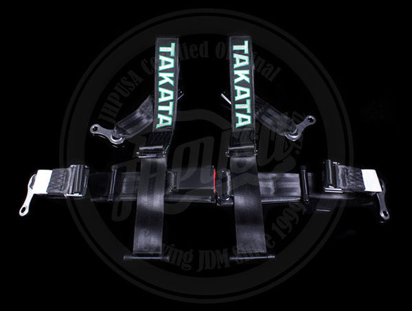 Takata Drift II 4-point Seat Belt Harnesses