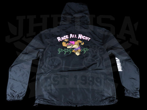 Thrilla Krew Rage All Night Windbreaker - Black