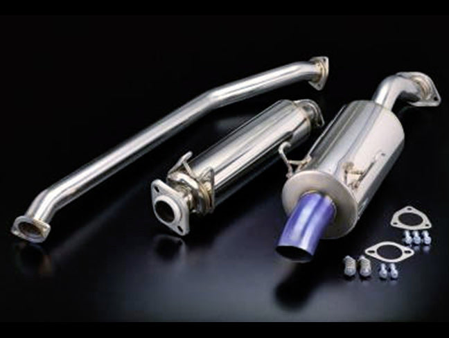 Toda Exhaust System - 02-06 DC5 RSX