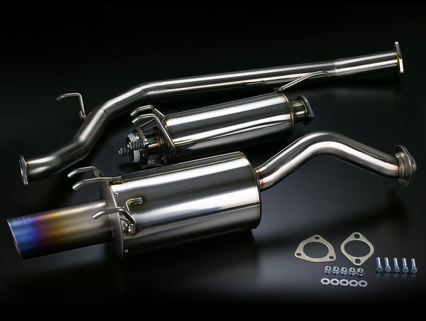 Toda Exhaust System - 06-11 Civic Si Sedan (FD2/FA5)