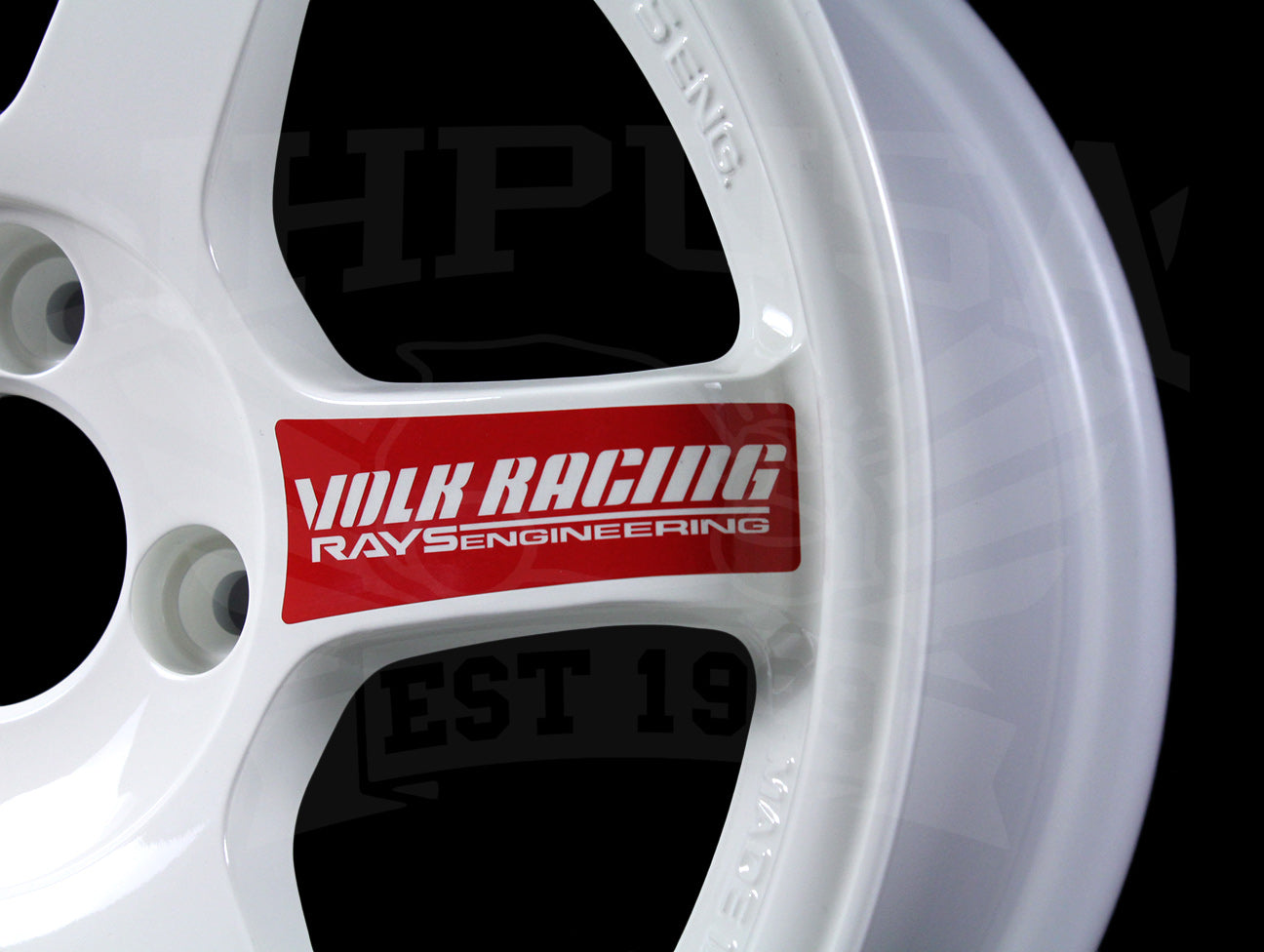 Volk Racing TE37SL Wheel Replacement Spoke Decal