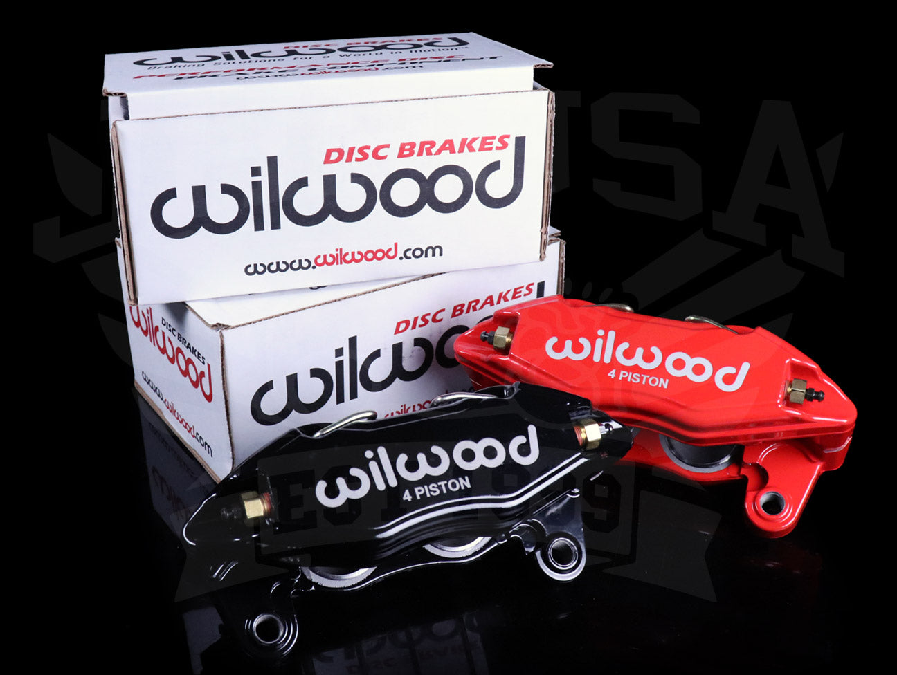 Wilwood Direct Bolt-On DPHA Forged Front Calipers - Honda / Acura