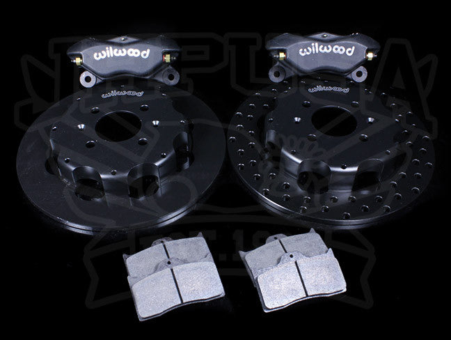 Wilwood FDL4 Front Drag Brake Kit - Honda/Acura