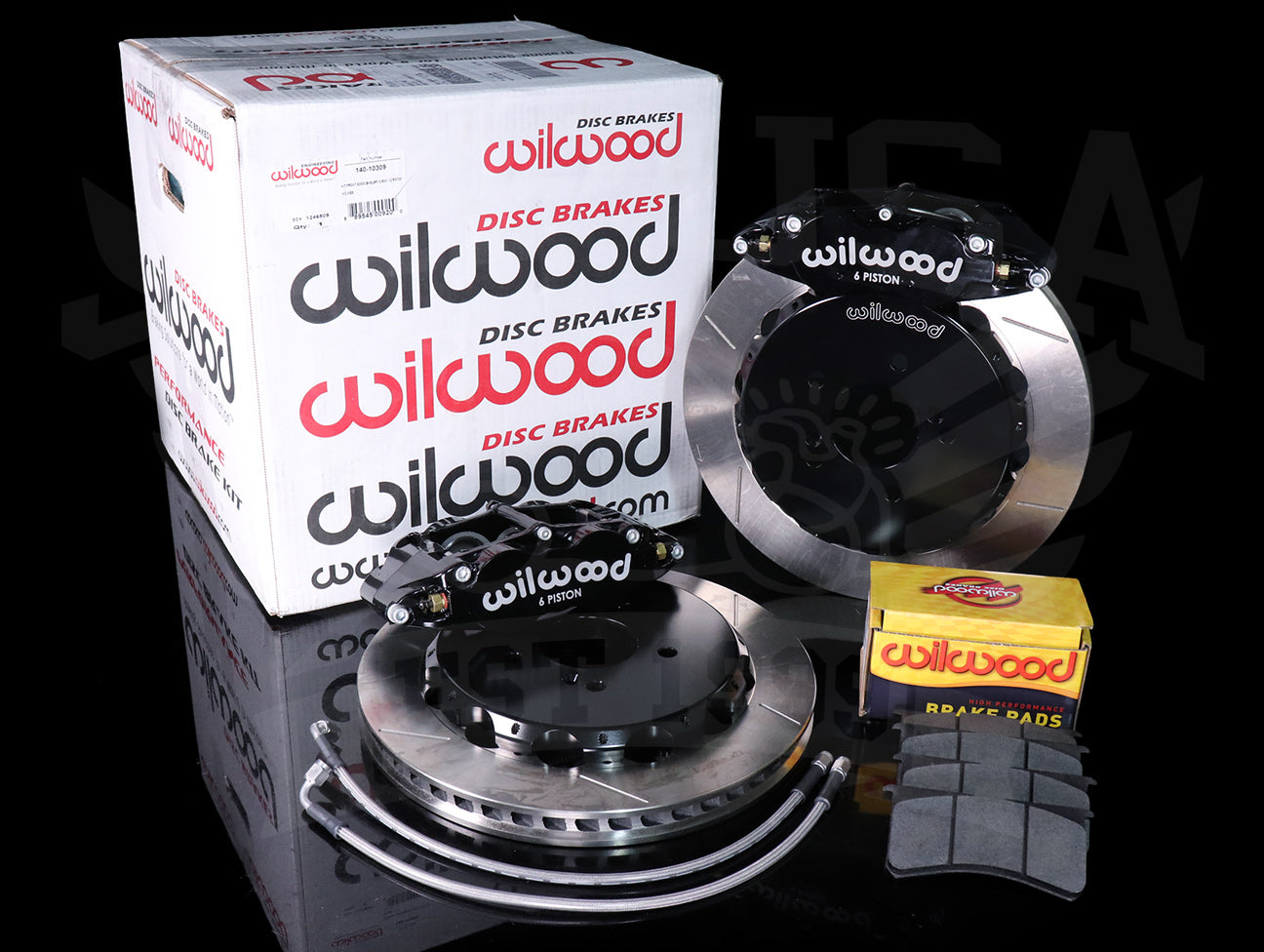 "Wilwood Forged 12.88"" Narrow Superlite 6R Front Big Brake Kit - 00-09 S2000"