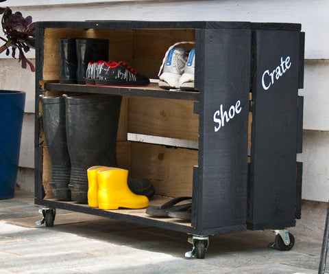 Make your own Shoe Crate