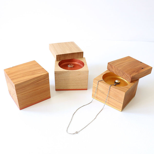 Recycled Wood Jewellery / Treasure Box - Takara Box