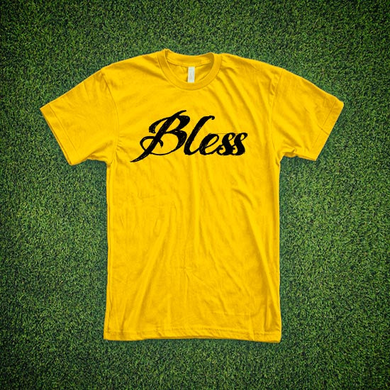 RIEJUNIO YELLOW BLESS TEE