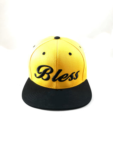 Bless Yellow and black SnapBack