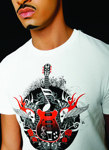 Riejunio Guitar Premium T Shirt - MEN