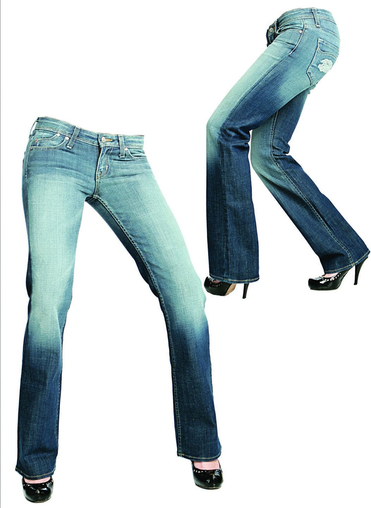Riejunio Double Pocket Jeans - WOMEN