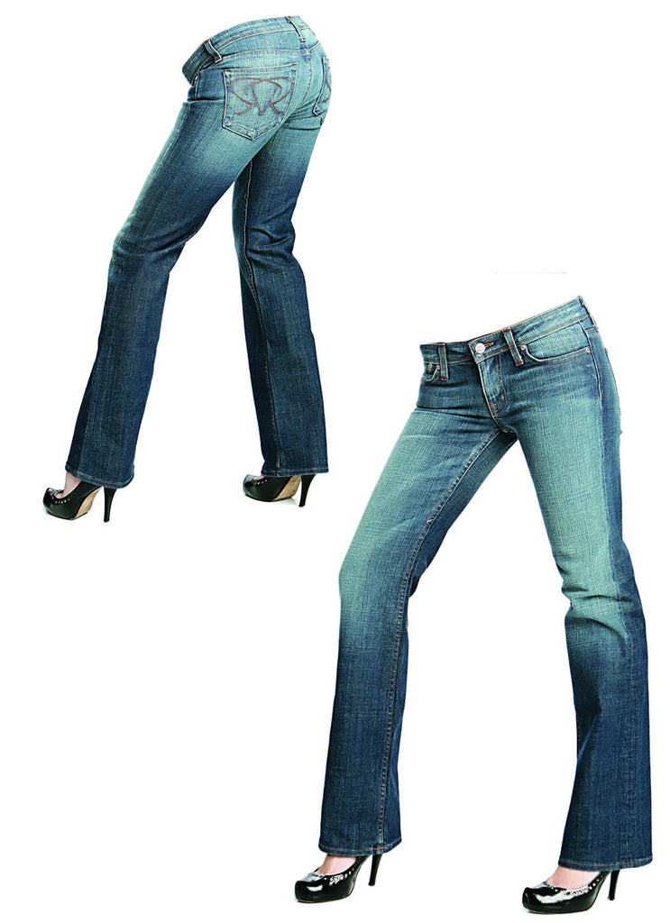 Riejunio Pearl Wash relaxed Jeans - WOMEN