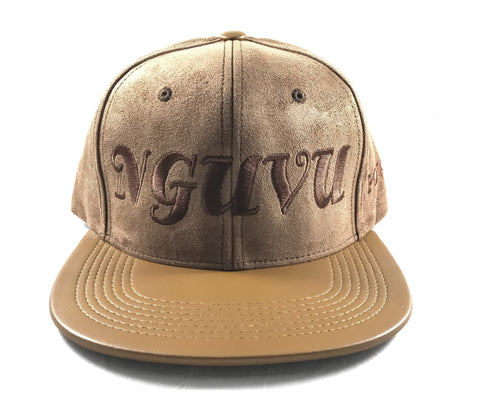 POWER SWAHILI SUEDE SNAPBACK