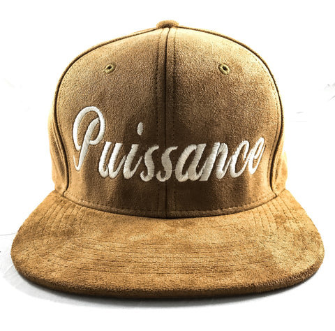 POWER FRENCH SUEDE SNAPBACK