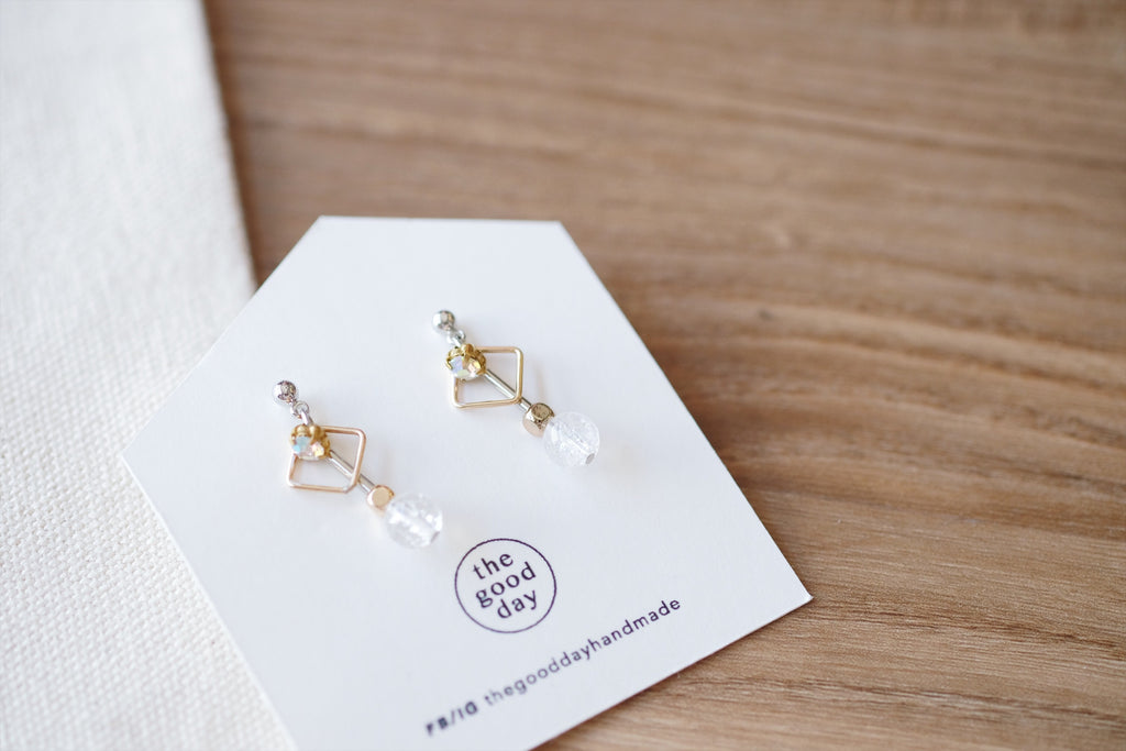 Sparkly Everyday Earrings