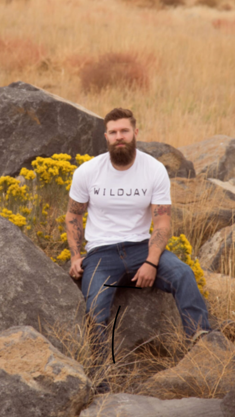 White Wildjay T-Shirt
