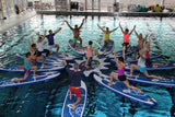 Sup Yoga, Grupp Yoga, Fitness, Hotell, Pool, SUP