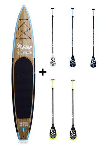 "Yster Sup 12'6"" x 29"" All Wood - Hård Sup Paket"