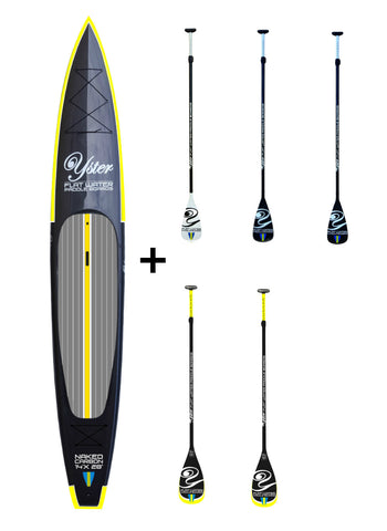 "Yster Sup 14' x 28"" Naked Carbon - Hård Sup Paket"