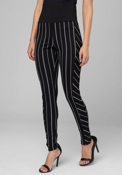 PINSTRIPE LEGGINGS Leggings - bebe Arabia