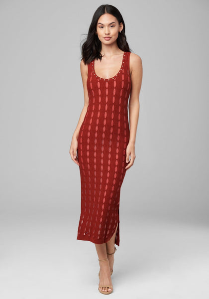 OLIVIA TANK DRESS Day Casual - bebe Arabia