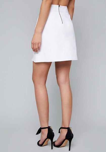 PLEATED UNDERLAY MINI SKIRT Skirts - bebe Arabia