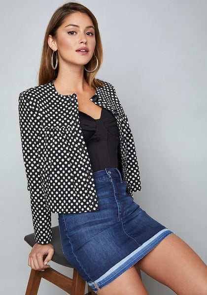 NOEMI POLKA DOT JACKET