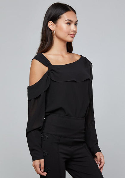 EXTENDED CUFF BLOUSE - bebe Arabia