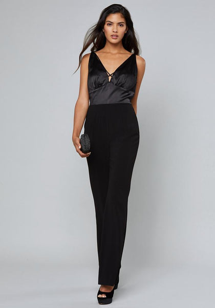 ALEXIS CHARMEUSE JUMPSUIT Day Occasion - bebe Arabia