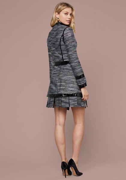 NAOMI METALLIC TWEED JACKET Separates Jackets - bebe Arabia