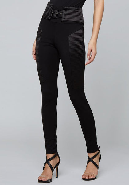 QUILTED LEGGINGS Leggings - bebe Arabia